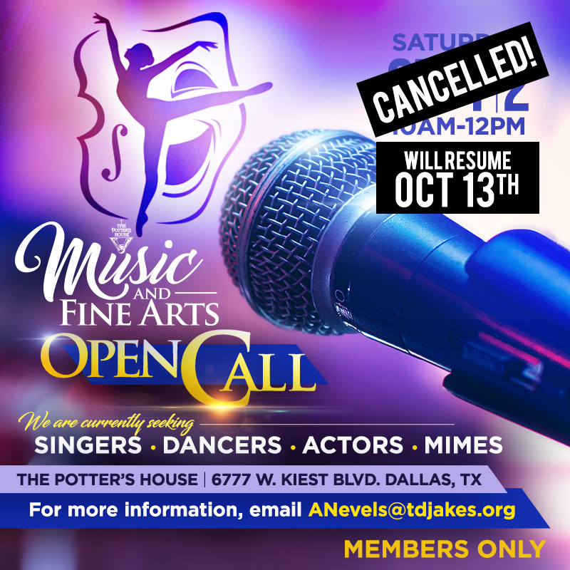 Music and Fine Arts Open Call
