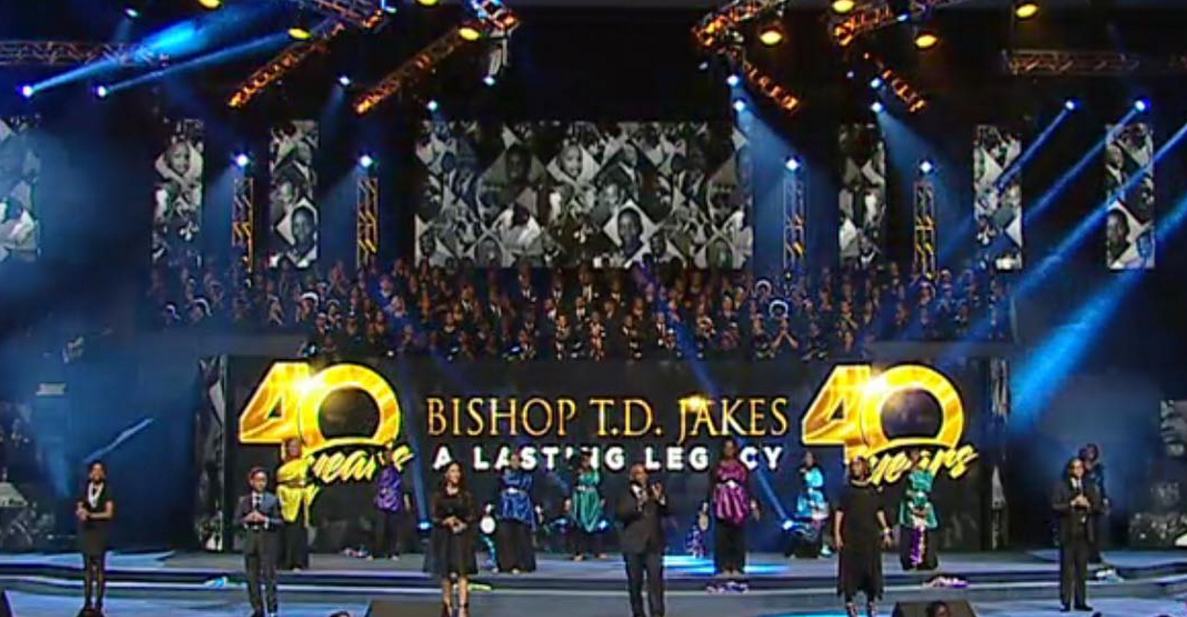 40 Years: Bishop T.D. Jakes - A Lasting Legacy