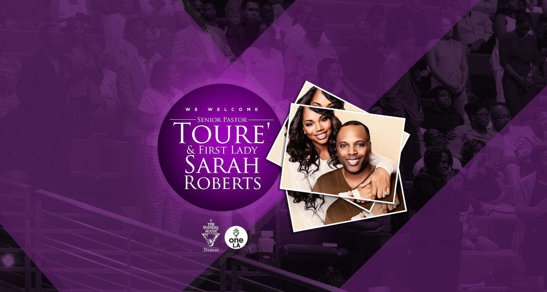 Welcome Toure' and Sarah Roberts